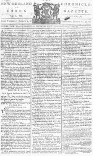 1776_New_England_Chronicle_Cambridge_Massachusetts_Jan4